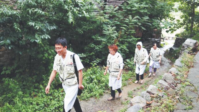 担当作为|山东淄博:帐篷医疗队——打通村民就医最后一公里