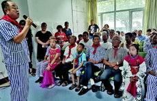 齐鲁晚报公益夏令营来啦!和孩子们一起听老英雄讲革命故事