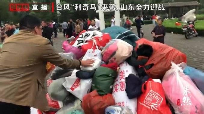 果然视频 暖心!济南章丘救灾现场爱心涌动,市民自发捐赠物资!