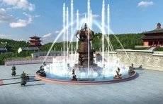 """这个十一,来石岛赤山共赏""""吉祥平安谷""""音乐喷泉表演"""