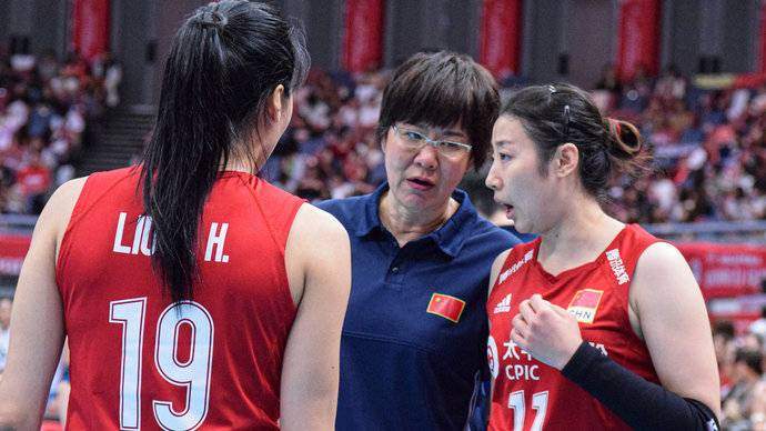 中国女排十一战全胜全记录:我们的目标永远是升国旗奏国歌