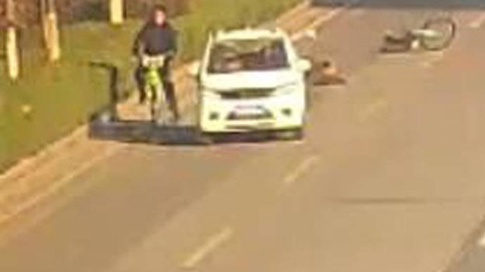 果然视频|潍坊电动四轮车撞人致死当场逃逸
