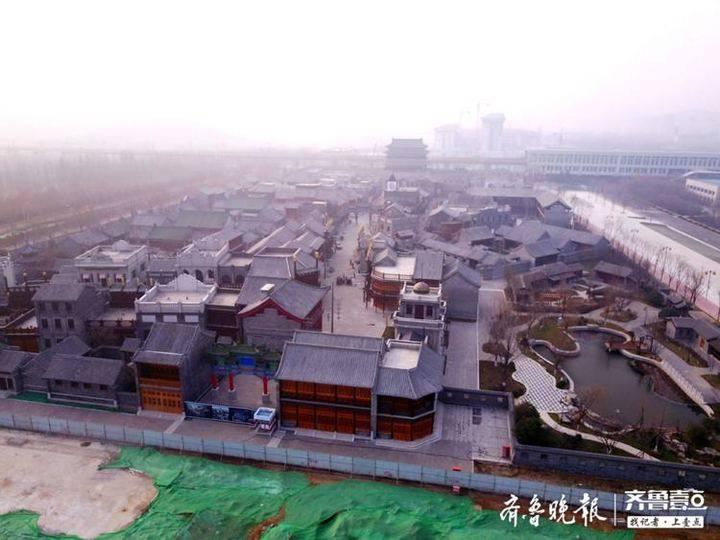 探济南西部华谊兄弟影视城:开建三年成这样气魄了