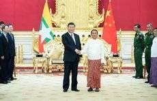 习近平:我同温敏总统一致同意,共同构建中缅命运共同体
