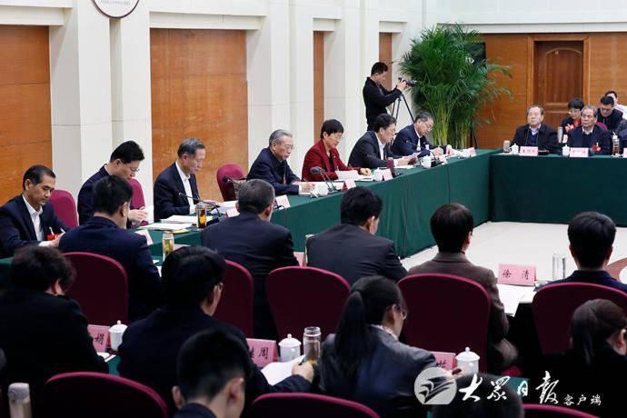 刘家义参加临沂代表团审议:希望临沂勇当鲁南经济圈发展排头兵