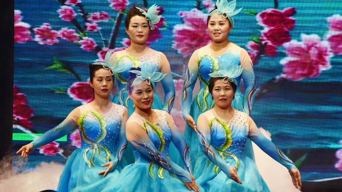 奎华播报: 茌平区2020 春节联欢晚会《梦想星光》《望月》之二