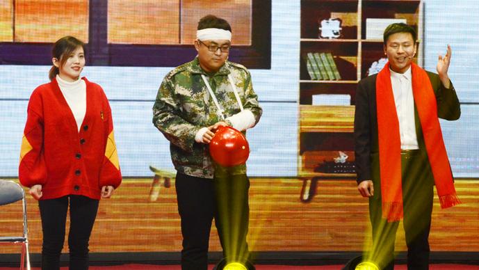 奎华播报:2020茌平区春节联欢晚会之三小品《你安全 我幸福》
