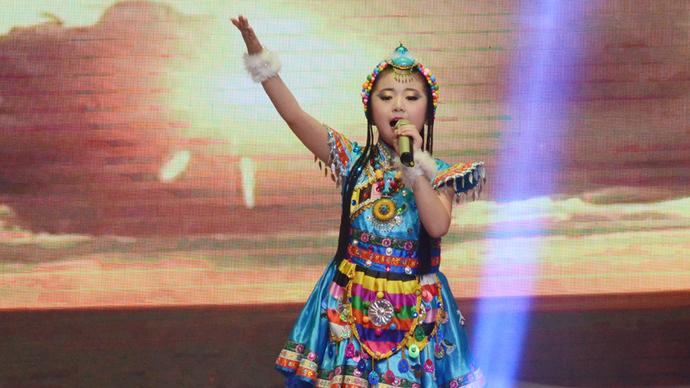 奎华播报:2020茌平区春节联欢晚会之五童声合唱《爱我中华》等