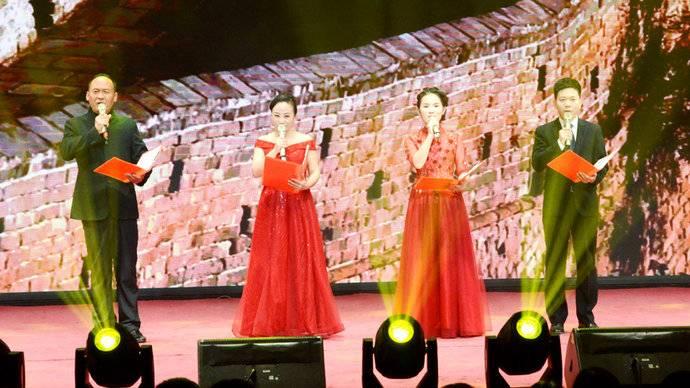 奎华播报:2020茌平区春节联欢晚会之六 朗诵《向着春天出发》