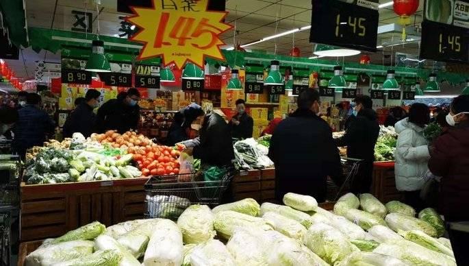 壹直播|济南超市货物充足不?大白菜涨价没?壹点记者带你逛超市