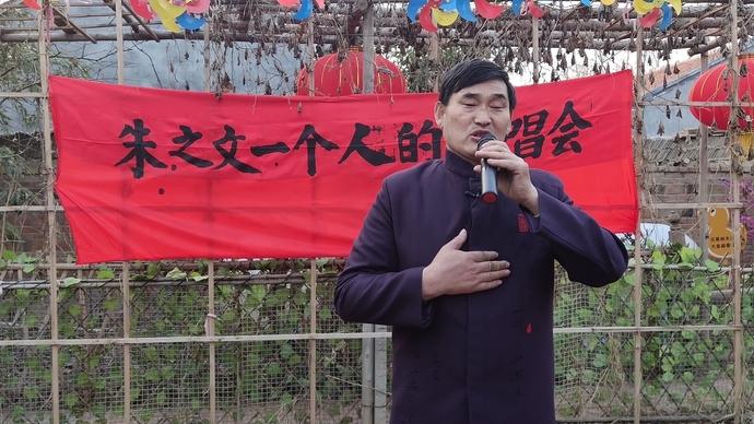 果然视频|朱之文清唱《爱的奉献》,一个人演唱会致敬抗疫英雄