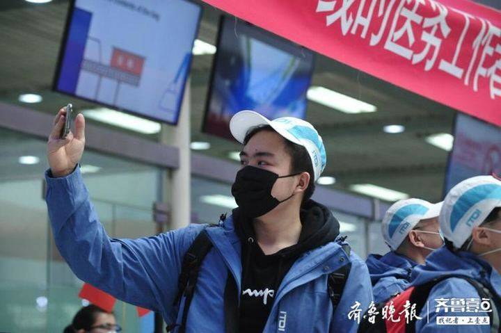 我们是钢丨齐鲁晚报·齐鲁壹点记者黄翔随山东医疗队赴武汉
