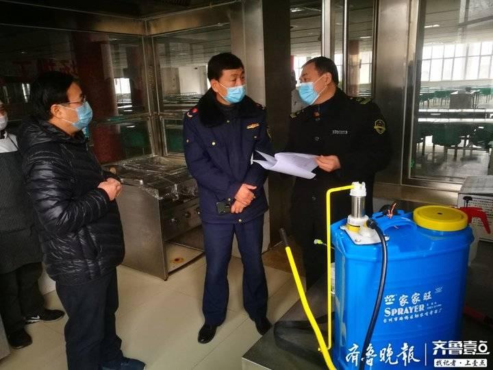 济南:复工企业食堂一旦发现体征异常人员禁止就餐并及时报告