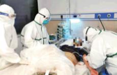 黄冈直击 大别山区域医疗中心里的山东医疗队:带给患者生的希望