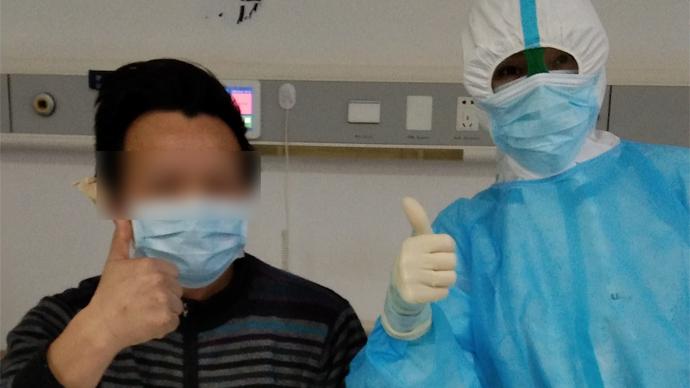 果然视频|山东医疗队员张睿:把医院发的苹果分给病人吃,希望他们很快都能出院