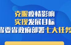 克服疫情影响 实现发展目标 省委省政府部署七大任务