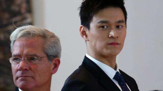 孙杨回应禁赛8年:感到不能理解,已经委托律师上诉