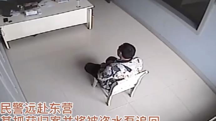 果然视频|男子田间盗窃水泵,正在数钱时民警敲响了房门