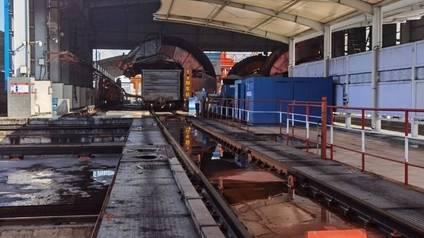 大河奔腾|探访济宁梁山铁水联运物流,直击万吨火车卸煤现场