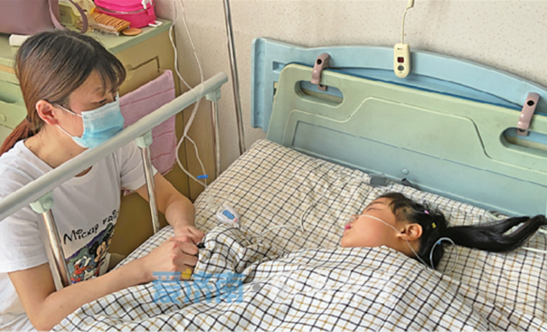 手术很顺利!左脚变形仍坚持跳舞的泰安7岁女孩在济完成手术