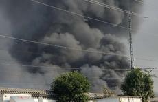 情报站|济南祝甸北一厂区突发大火,壹粉多角度直击第一现场