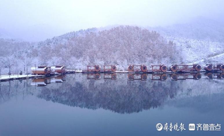 济南南山雪景美不胜收!九如山已变银色仙境