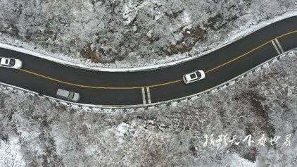 济南南部山区雪后银装素裹景色如画