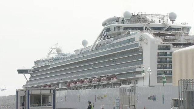 """日本 """"钻石公主""""号达标乘客下船已结束,船上剩下千余人咋办?"""