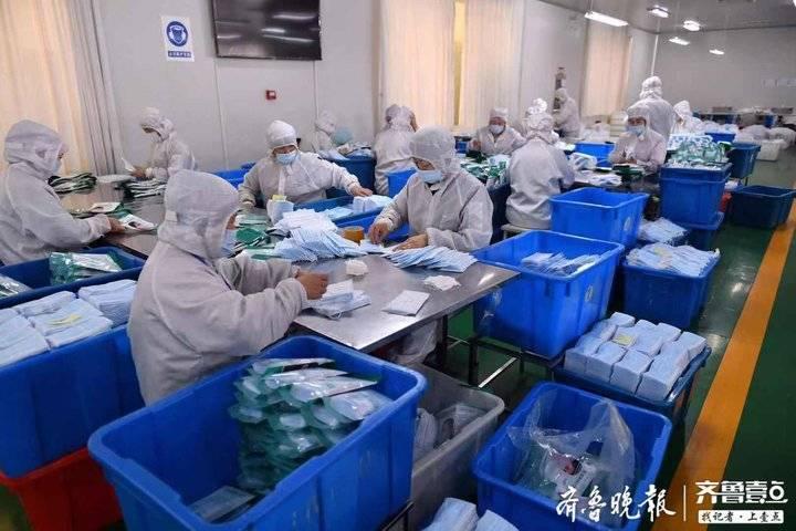 """""""尽中国企业的责任!"""" 日照这家公司加班加点生产防护口罩"""