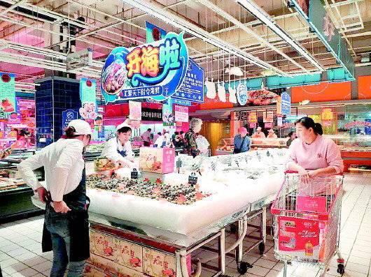 """潍坊一品牌超市年底前在济开业,大卖场社区超市成""""血拼""""战场"""
