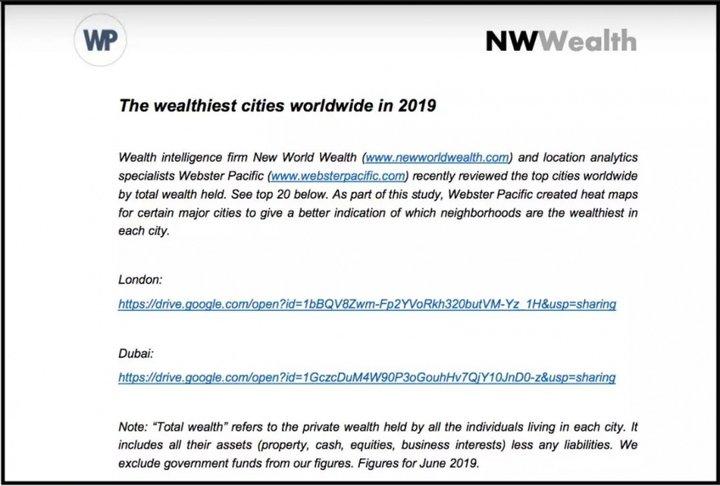 全球最富城市排行榜出炉,北京上海名列五六