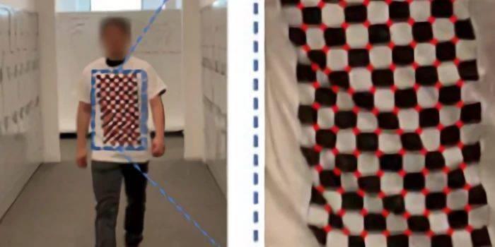 MIT实验室新研究:穿上这件棋盘T恤,对抗人体识别!