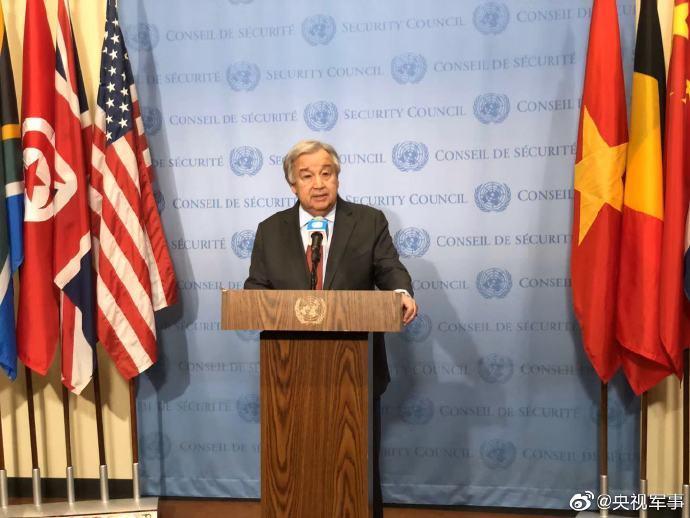 联合国秘书长:尽全力避免海湾战争