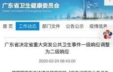 广东调整为二级响应,全国已有6省调整应急响应级别