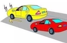 太险了!淄博一女司机误将油门当刹车,造成8车相撞