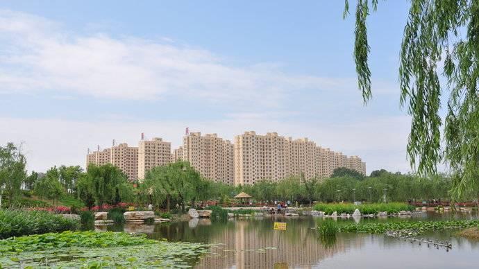 朋友航拍了一下禹城的禹王亭,真壮观!