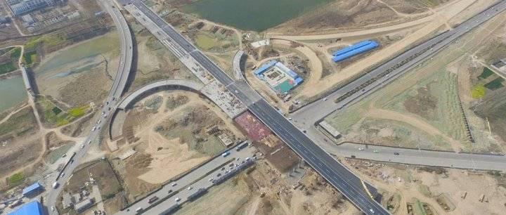 菏泽人民南路互通立交西半幅通车!15分钟的车程3分钟搞定了