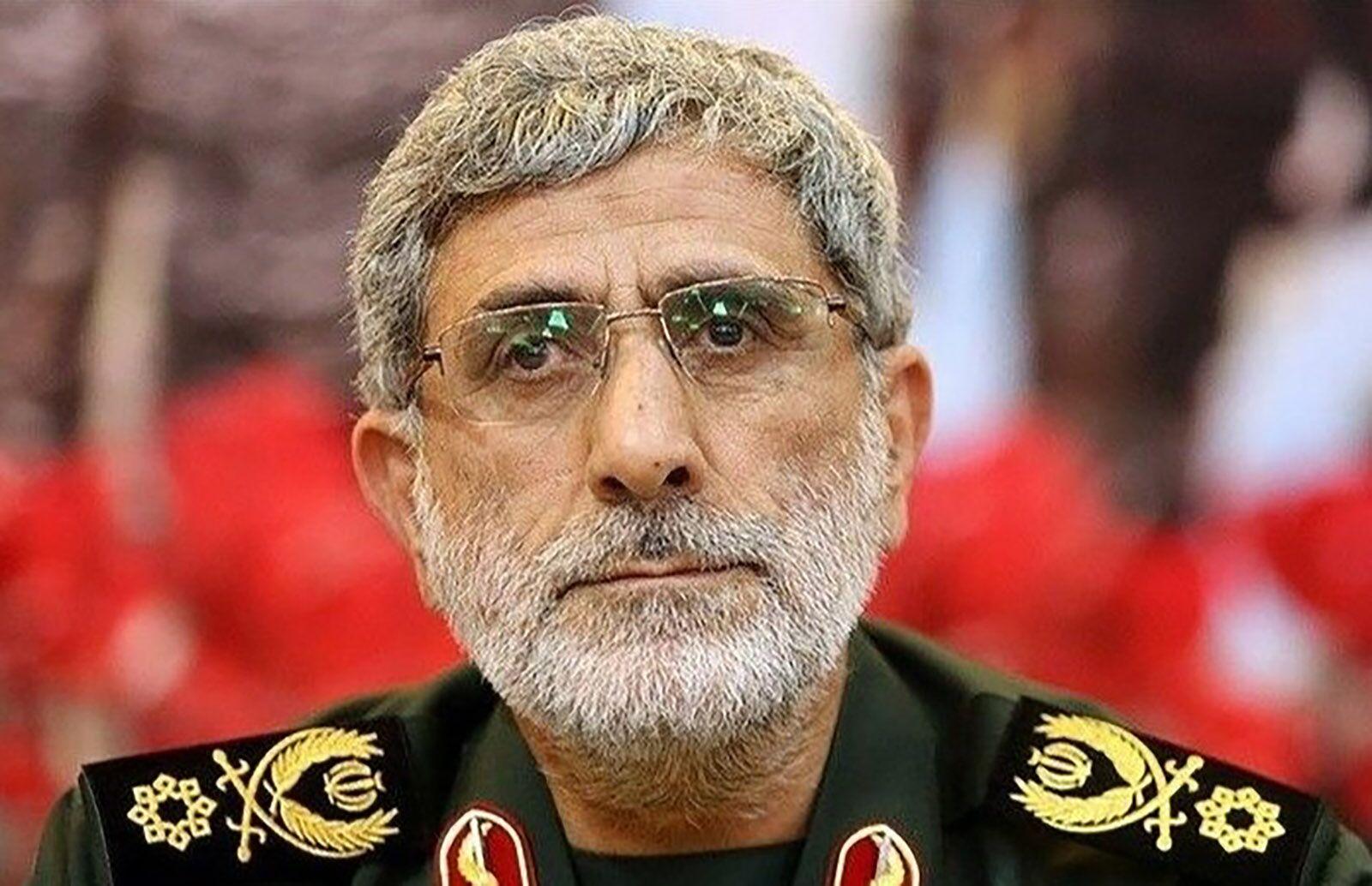 """苏莱马尼被炸身亡后,他接任伊朗""""圣城旅""""指挥官"""