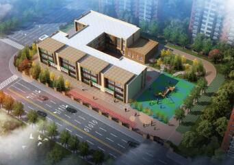 济南高新区一安置项目配建幼儿园规划公示,位于青银高速南侧