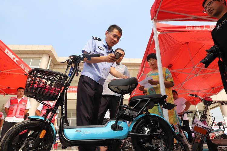 全免费!可网办!滨州第一张电动自行车号牌是这样挂出去的!