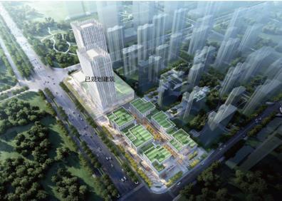 济南历城区神武城中村改造新增一商业项目,将建步行街