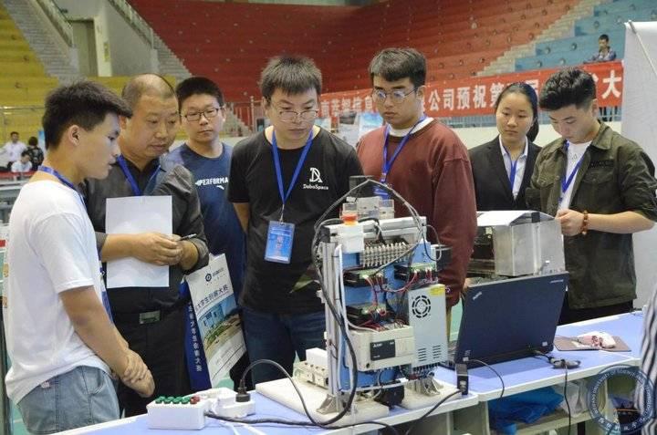 腾博会app17所高校大学生创客在潍坊科技学院展开比拼