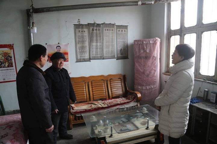 滨州市委市直机关工委春节走访慰问派驻第一书记村贫困户、老党员
