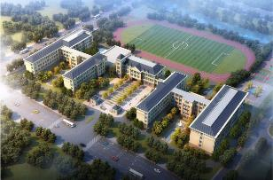 济南市中区兴隆片区将建一九年一贯制学校,位于二环南路
