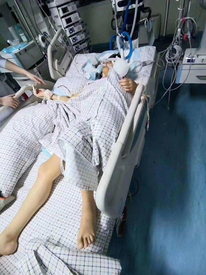 为枣庄朋友圈的这条爱心传递点赞,急需输血的这位孕妈现已转院