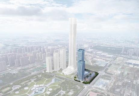 """#齐鲁晚报·齐鲁壹点#济南恒大项目新规划!将建金融中心,酝酿"""""""
