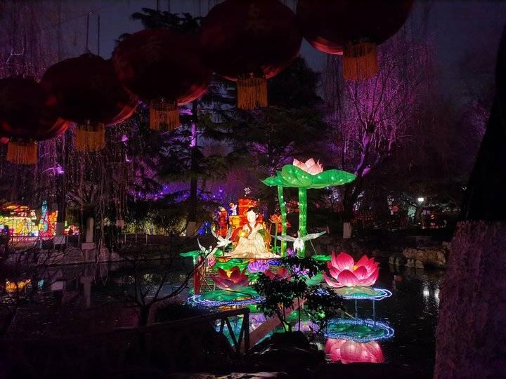 """春节假期""""夜游""""景区受欢迎,山东多地都将推出灯会"""